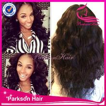Wholesale thin skin full lace wigs, hot sale 20inch-30 inch malaysian full thin skin cap human hair lace wigs