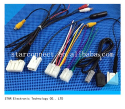usb/rca/video/bluetooth/usb cable wire harness for toyota