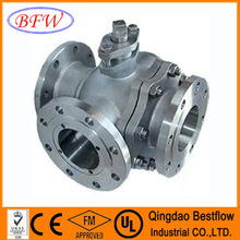 Nitric Acid DN15-DN150 Manual Cast Iron Ball Valve With Wear-resising