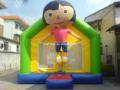 Dora castillo hinchable de salto/boucne inflable para los niños