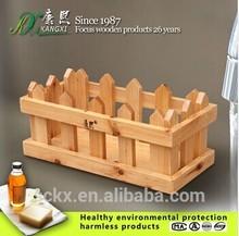 Solid Cedar Hanging Basket, bathroom wood hanging basket