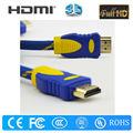 Migliore qualità 1080p 1.4a cavo hdmi dorato/promozionale cavo hdmi