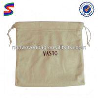 Wine Bottle Canvas Drawstring Bag Laundry Drawstring Bag