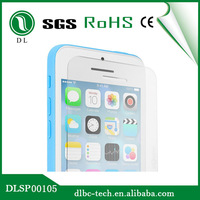 Mobile Phone Use anti fingerprint screen protector for iphone5c phone tempered glass