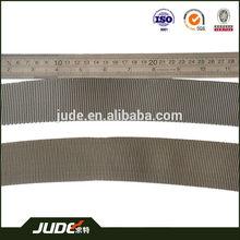 custom webbing curve for military tactical belt