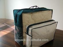 dark green non woven 90gsm quilt/duvet/comforter/blanket bag