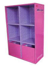 supermarket cardboard box for sale / flooring cardboard display rack / cardboard fur