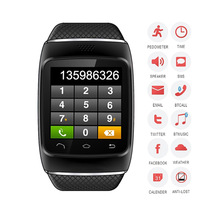 New Arrival 1.5 inch resistive screen Smart phone watch , bluetooth, camera, MP3, GPRS