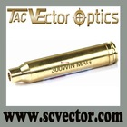 Vector Optics Full Brass Cartridge .300 Win. Mag. Cartridge Red Laser Bore Sight Gold