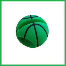 Basketball shaped silicone external speaker for mobile phone
