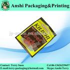 Beef jerky heat seal plastic bag packing food