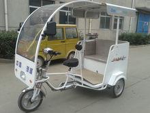 China made 500-1200w and No Foldable electric pedicab rickshaw