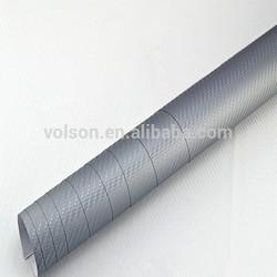 Self adhesive 1.52*30m pvc 3d carbon fiber film vinyl wrap car cost