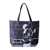 Modern New Design High Quality Black cotton handle paper shopping bag
