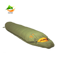 Winter Mummy Sleeping Bag Goose Down Sleeping Bag -15 Degree