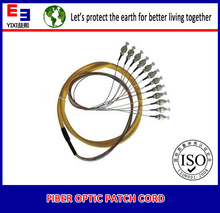 dubai wholesale market 12 core fiber optic patch cord