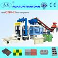 Venta caliente!! Qty8-15 pavimentación del ladrillo y el bloque de la máquina, carretera de ladrillo de la máquina línea de producción de línea