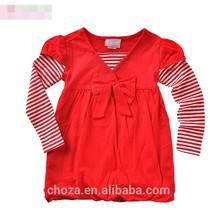 C11676C High quality Summer Fashion Stripes Girl's T-shirts