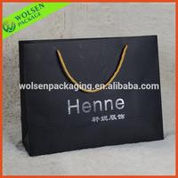 Hot-stamp logo paper bag dubai