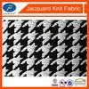 2014 new fashion jacquard double knit fabric yarn dyed