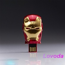 iron man mask with blue lights usb 3.0/cheap usb flash drives wholesale/usb 64gb for promotional market LFN-055