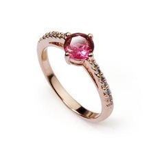 Allencoco fashion Jewelry ruby engagement rings