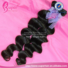 "Free shipping 4bundles/lot 20""22""24""26"" great world ltd 100% malaysian loose wave virgin hair weaving weft"