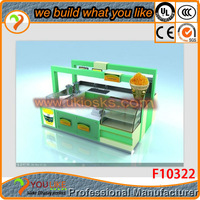 Beautiful design smoothie kiosks with 3d max free design frozen donuts in high end popcorn kiosk for sale