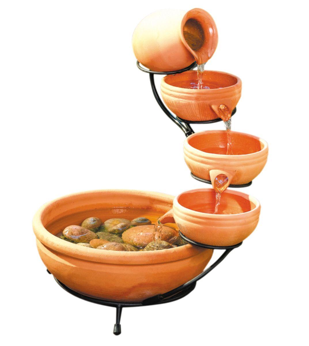 Small Ceramic Fountain