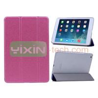 Tri-fold Colorful PC Stand Case Leather Flip cover Case for iPad Mini 2