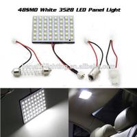 Super bright PCB dome light 48smd 1210 led interior light