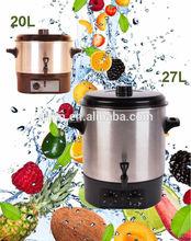 stainless steel fruit preserver 27L 20L
