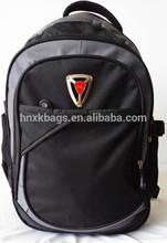Wholesale Black 600D Sport Back Pack / Backpack Bag For Shcool