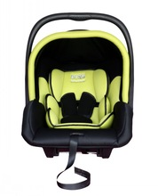 yellow safety infant baby car seat