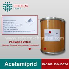 insecticide pesticide Acetamiprid 95% 96% 97%TC 5% 10% 20%WP manufacturer