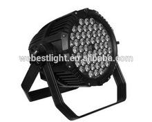High power IP65 Waterproof Outdoor RGBW LED Flat par light