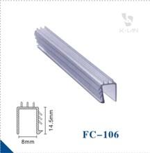u shaped plastic profile extrusion