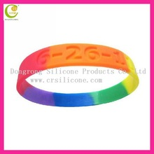 Magic and cheap top quality fashion popular colorful food grade hot bracelet