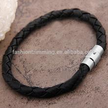 Top sale black carbon fiber mens bracelet magnetic bracelet
