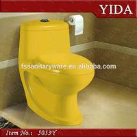 Colors red/yellow/black/green ceramic toilet, water closet price, toto prices saudi ceramic sanitary ware