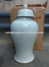 Antique decorative ceramic jar-storage jar for home deco