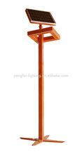 Q235A steel pillar for street, solar street light pole. 3M garden street light pole