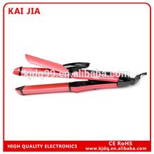 Brand New Style Fashion Zebra Print Professional ceramic hair straightener KJ-3061