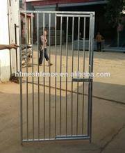 Galvanised Dog Run Panels 8cm Bar Door Right Gate Dog Kennel