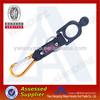 Custom polyester carabiner bottle holder short strap lanyard