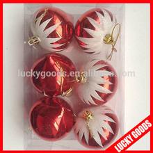 6pcs a set special shape christmas tree hanging ball wholesale