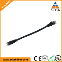 Good Quality CAT5E/CAT6 PVC 24AWG 100% Copper Network Patch Cable