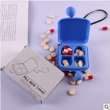 2014 Promotion gift Promotional /Pill Organizer/Pill Box/7 days Plastic Pill Case