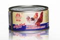 340g conservas de carne de frango almoço
