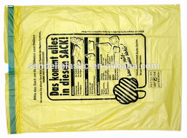 Garbage Can Drawing Draw-string Garbage Bags on
